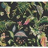 York Wallcoverings Tropics Fiji Garden Removable Wallpaper,...