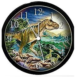 Glow in the Dark Wall Clock - Dinosaur #5