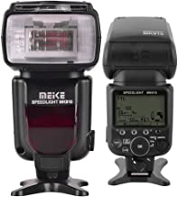 Meike HSS i-TTL LCD Display Flash Light Master/Slave Speedlight Replacement for Nikon SB910 and for Nikon D80 D70 D800 D800e D600 D7200 D7100 D7000 D5200 D5100 D5000 D3200 D3100 D3000 D300 D90 Cameras