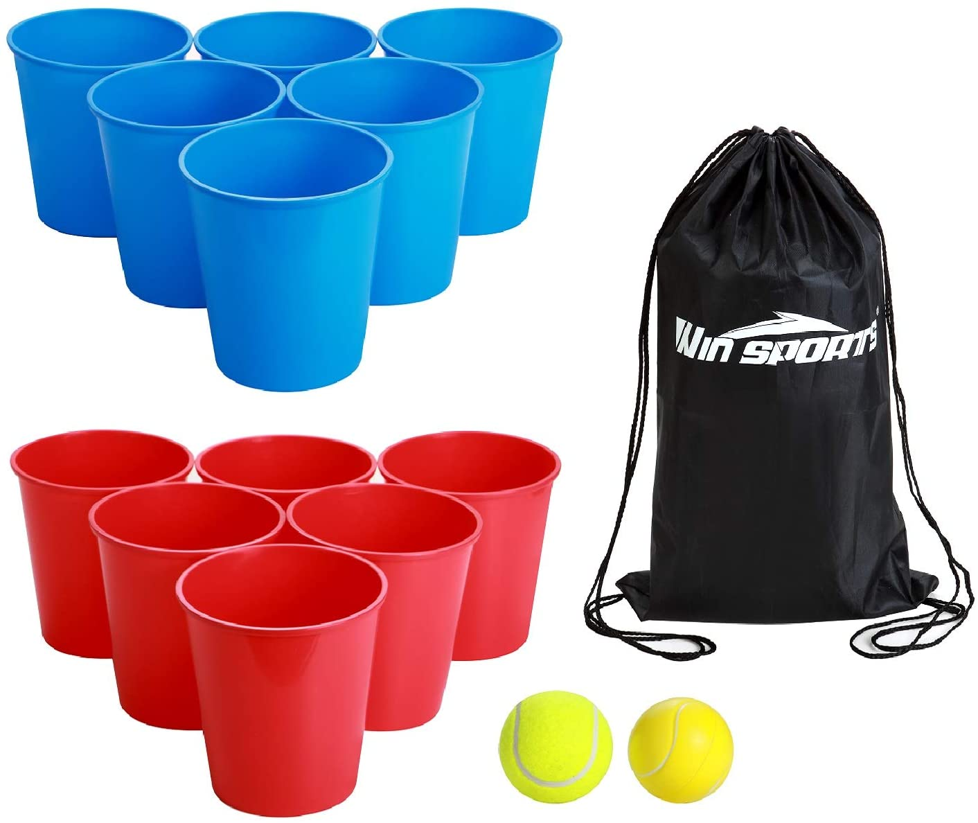 WIn SPORTS Giant Yard Pong Bucket for Toss Mesa Mall New product! New type Bea Game - Set
