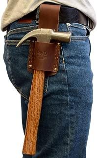 Hide & Drink, Leather Hammer Holster/Tool Holder/Organizer/Sheath/Case/Woodwork & Handcraft, Handmade Includes 101 Year Warranty :: Bourbon Brown
