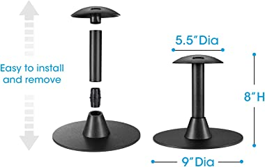 Unicook Outdoor Grill Griddle Cover Support Pole, Patio Table Cover Support Pole, Rustproof Dome Prop Rack, Prevent Rain or S