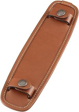 """Billingham SP40 Leather Shoulder Pad for 1.5"""" Wide Shoulder Straps - Tan 528570"""