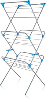 Classy 'N' Cozy Laundry Drying Rack for Clothes - Heavy Duty Adjustable Drying Rack Stand - Foldable and Space Saving, Ind...