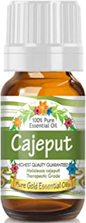 Pure Gold Cajeput Essential Oil, 100% Natural & Undiluted, 10ml