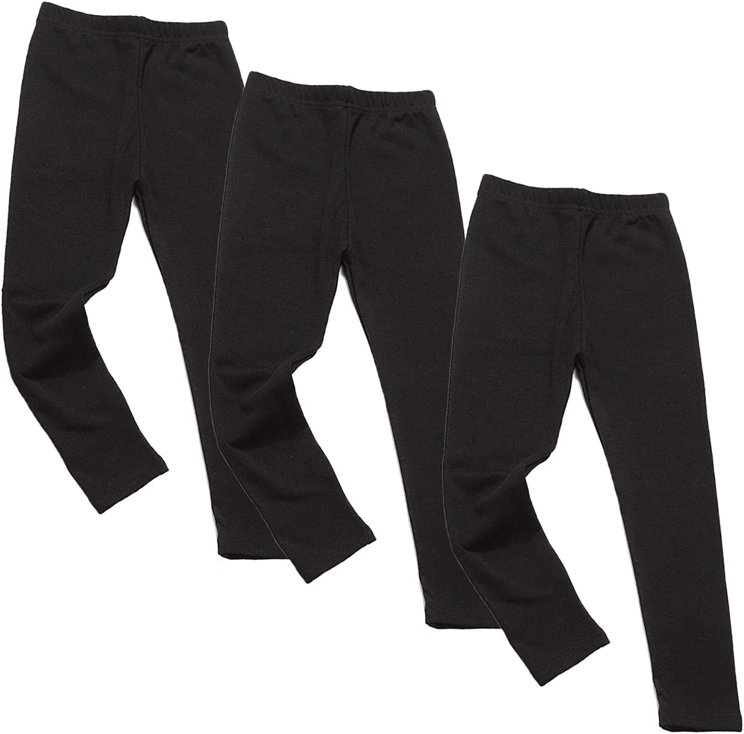 Frost`nai Girls Black 2021new shipping free Colorado Springs Mall Leggings 3Pcs F Waist Casual High Athletic