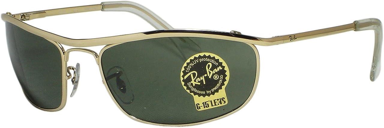 Ray Ban RB3119 Miami Houston Mall Mall Olympian 62mm Gold 001 Sunglasses