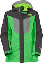 North Face Boys Boundary Triclimate Med 10/12 Krypton Green