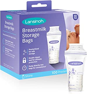 breast milk storage supplies