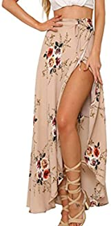 Womens Boho Floral Tie Up Waist Summer Beach Wrap Cover...