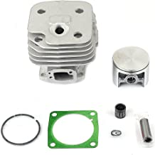 Savior 52mm Big Bore Cylinder Piston Rebuild Kit Ring Pin Clips Gasket Assembly for Husqvarna 272 272K 272XP 268 61 Chainsaw Cut Off Saws