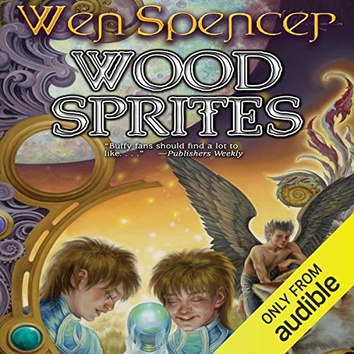 Wood Sprites audiobook cover art