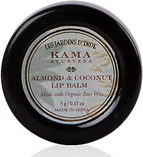 Kama Ayurveda Almond and Coconut Lip Balm, 5g