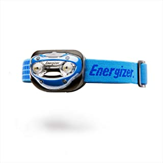 Energizer LED Headlamp, 100 High Lumens, Impact-Resistant, for Camping, Running, Outdoors, Emergency Light, Best Head Lamp for Adults and Kids, Batteries Included