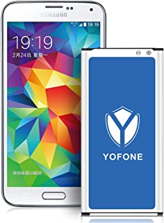 YOFONE Galaxy S5 Battery with NFC, YOFONE New Full 3200mAh Li-ion Replacement Battery for Galaxy S5 G900A,G900F,G900H,G900R4, G900V, G900P, G900T [18 Months Warranty]