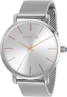 Invicta Women's Angel Quartz Watch with Stainless Steel Strap