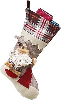 Calcetines De Navidad Muñeco De Nieve De Caramelo Calcetines Regalos De La Decoración Del Bolso Calcetines