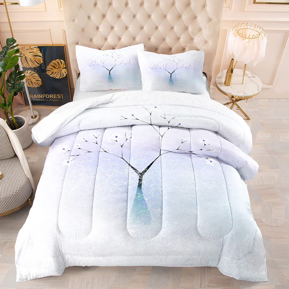 BailiPromise Japanese Denver Mall Style Comforter Abstraction Tree Ranking TOP4 Set Rever