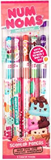Num Noms Colored Smencils 5-Pack of Scented Coloring Pencils