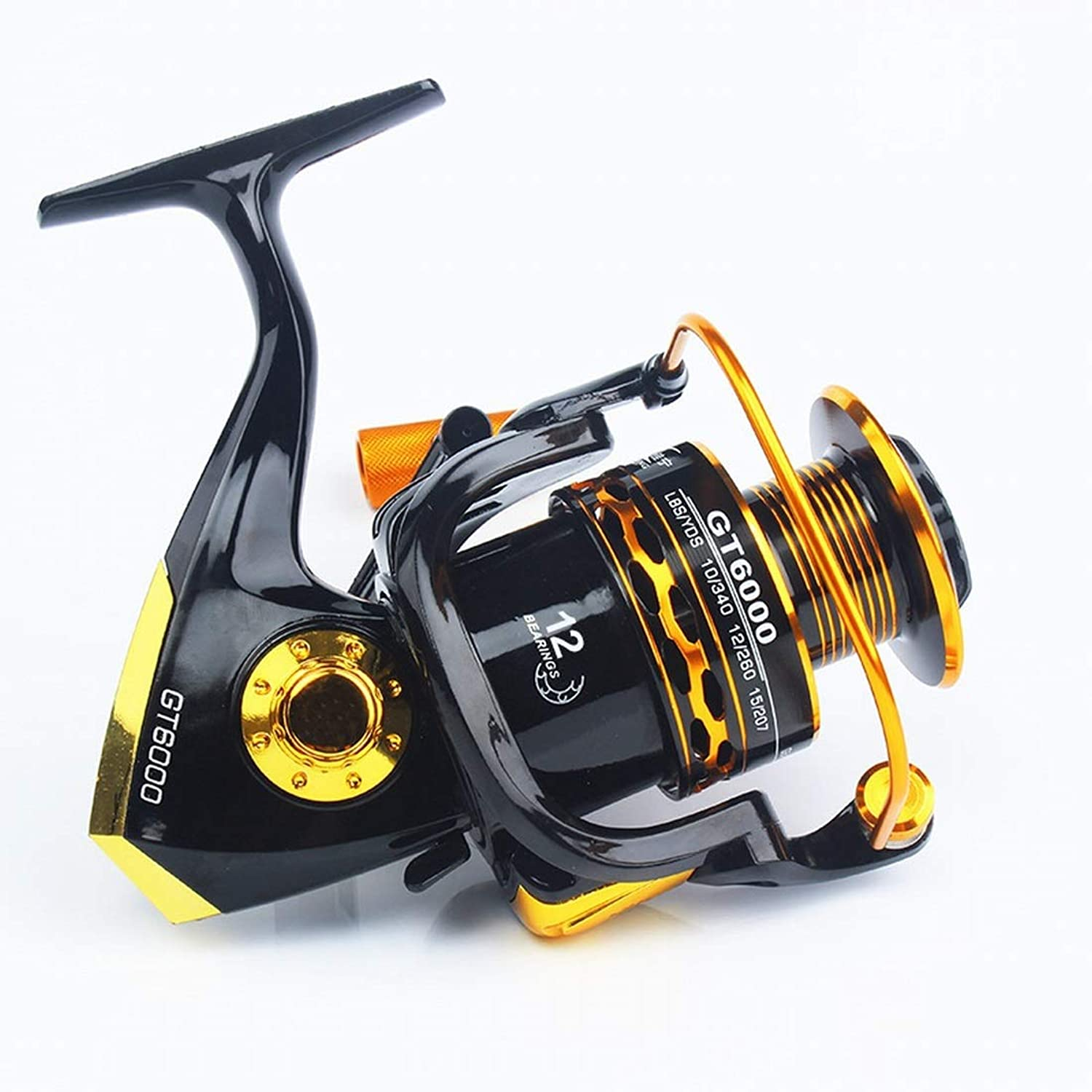 XIAMEND Fishing Reel Spinning Wheel 11 Axis Metal Head Fishing Reel Rocker Spinning Reel Fishing Reels (Specification   7000)