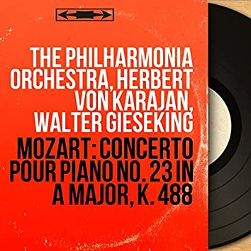 Mozart: Concerto pour piano No. 23 in A Major, K. 488 (Remastered, Mono Version)