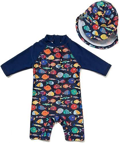 Sun Protection Baby Swimsuit Bestsen Baby Toddler One Piece Zip Sunsuit UPF 50