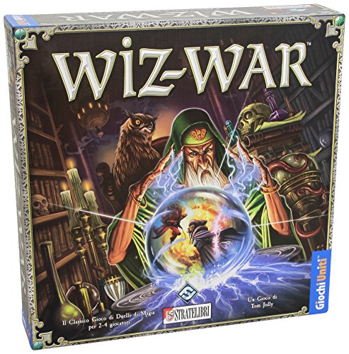 Fantasy Flight Games- Wiz-War Juego de Mesa