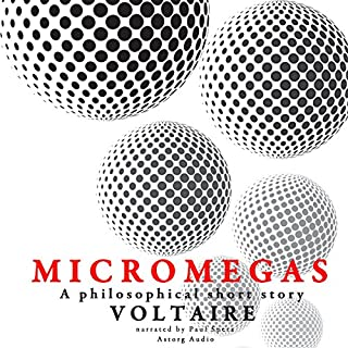 Micromegas: A philosophical short story audiobook cover art