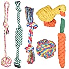 犬おもちゃ 噛むおもちゃ Fohil 犬噛むおもちゃ 6個セット ストレス発散 ムズムズ解消 清潔 歯磨き 丈夫 耐久性 小型犬・中型犬に適応
