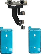 Vimour Front Facing Camera with Proximity Light Sensor Cable Replacement for iPhone X 5.8 Inches (Model A1865, A1901, A1902) with 2 Pieces OEM Screen Waterproof Adhesive Tapes