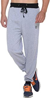 VIMAL JONNEY Men's Grey Cotton Trackpants-D9MELANGE-P