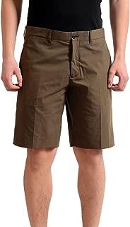 Men's Dark Brown Casual Shorts