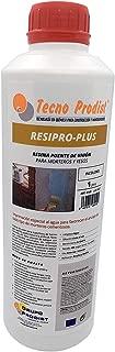 RESINA PUENTE DE UNIÓN de Tecno Prodist - (1 Litro) Adhesivo al agua, adherencia hormigones y morteros viejos con nuevos - Escayolas - Cementos - Para yesos en cornisas y techos. Buena Calidad