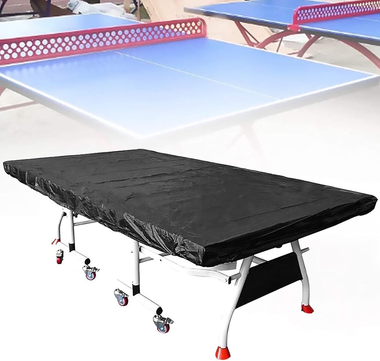 GuoPan Cubierta Mesa Tenis Mesa Impermeable Transpirable Resistente A Los Rayos UV Cubierta De Mesa De Tenis De Mesa para Exteriores/Interiores (280×150×5 Cm)
