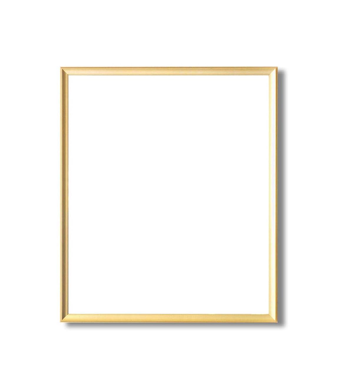 大きなスケールで見ると未来パズル【額縁】 アルミのゴールドデッサン額 シルバーデッサン額 ■デッサン額 (ゴールド, 半切)