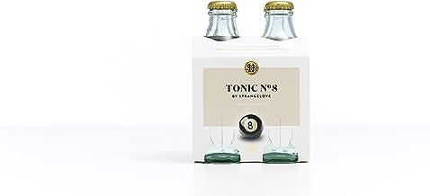 StrangeLove Tonic No 8 Indian Tonic Water, Pack of 4 x 300ml