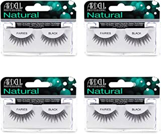 Ardell Natural Lashes False Eyelashes Fairies Black (4 pack)