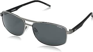 Polaroid Men's Sunglasses Rectangular Pld 2040/S Ruth Black