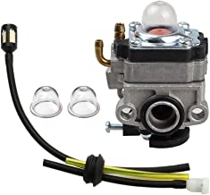 Savior Carburetor with Primer Bulb Fuel Line Kit for WYL-229 WYL-229-1 753-05251 753-1225 Troy-bilt MTD Trimmer