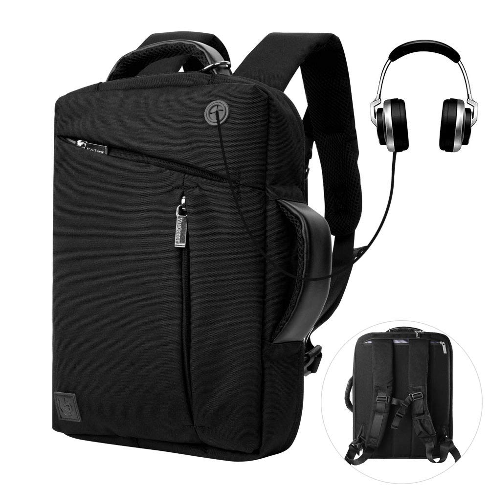 Convertible Backpack Functional Computer Rucksack