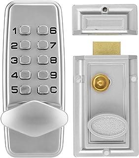 Waterdicht Codeslot-Wachtwoordslot, 2-4 Cijfers Mini Mechanisch Codeslot, Kast Binnendeur Buiten Wachtwoordbeveiliging Gec...