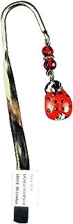 Calypso Studios - Comforting Clay Metal Bookmark, Good Luck Ladybug.