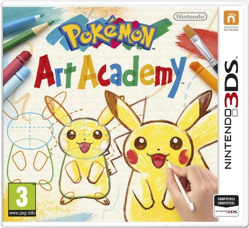 Pokemon Art Academy [Nintendo 3Ds]