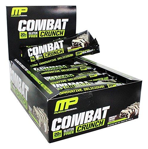 Combat Crunch Bar Chocolate Coconut 12 Bars
