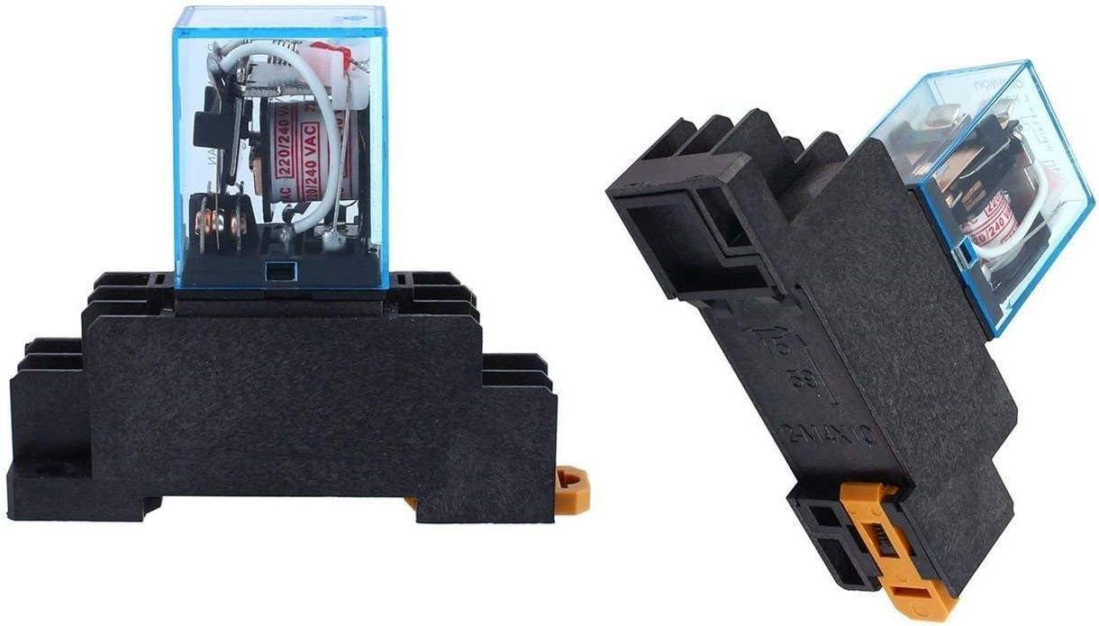 ZTSHBK 5 popular 1PCS 10A 1 year warranty AC 220V Coil DPDT HH62P Relay Power HHC68A LY2NJ