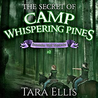 The Secret of Camp Whispering Pines audiobook cover art