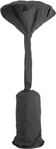 GREEN CLUB Housse de Protection imperméable de Parasol Chauffant Haute qualité Polyester h 230 x DH 90 x DB 48 cm Cou...
