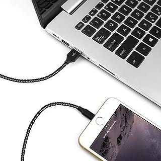 AOFU 【2本セット1M+1M】Micro USBケーブル,マイクロusbケーブル,2.4A急速充電 マイクロ,高速データ転送,生涯保証 高耐久ナイロン編組み,HUAWEI、Galaxy、ASUS、AQUOS、Xperia、Nexus、Mo...