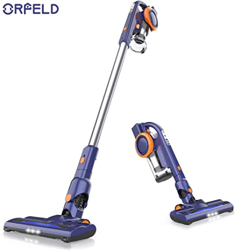 ORFELD Cordless Vacuum, 18000pa Stick Vacuum 4 in 1,Up to 50 Minutes Autonomy, with Dual Digital Motor for Deep Clean Whole House product image