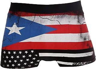 DongDongQiang USA Missouri State Flag Mens Boxer Briefs Underwear